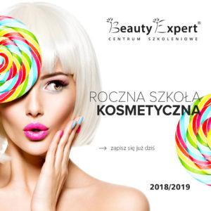 Zapis do Rocznej Szkoły Kosmetycznej nabór 2018/2019